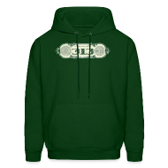 Hoodies ~ Men's Hooded Sweatshirt ~ In Detroit We Trust