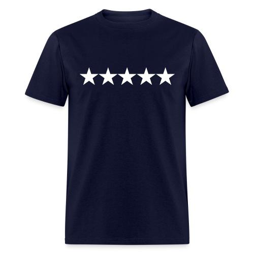 five stars - Men's T-Shirt