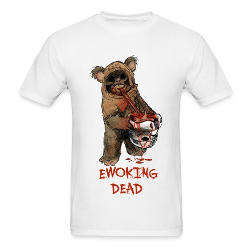 ewoking dead - Men's T-Shirt