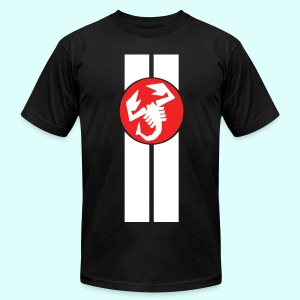 abarth racing - Men's T-Shirt by American Apparel