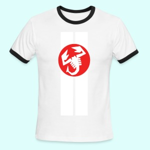 abarth racing - Men's Ringer T-Shirt