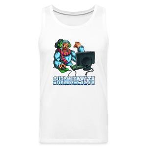 ShrapnelYeti Men's Tank - Men's Premium Tank