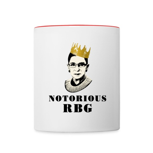 Notorious RBG mug  - Contrast Coffee Mug
