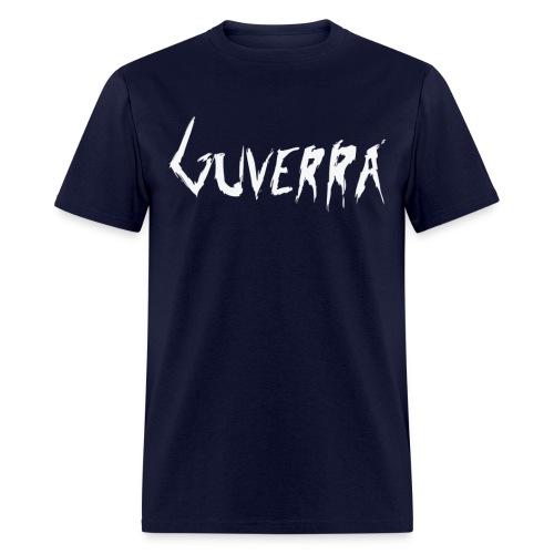 Guverra Logo Men's T-Shirt (Navy Blue) - Men's T-Shirt