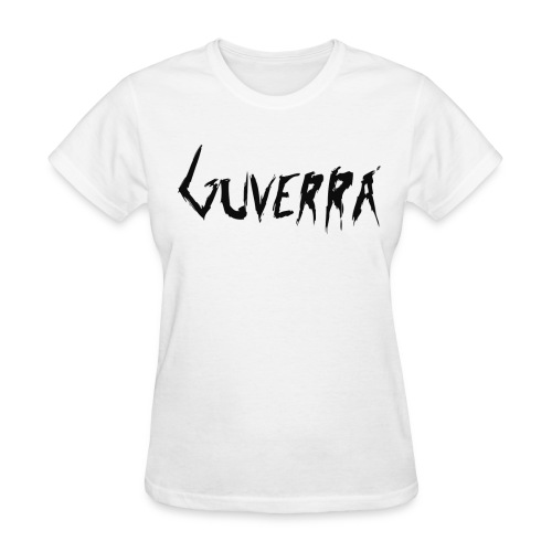 Guverra Logo Women's T-Shirt (White) - Women's T-Shirt