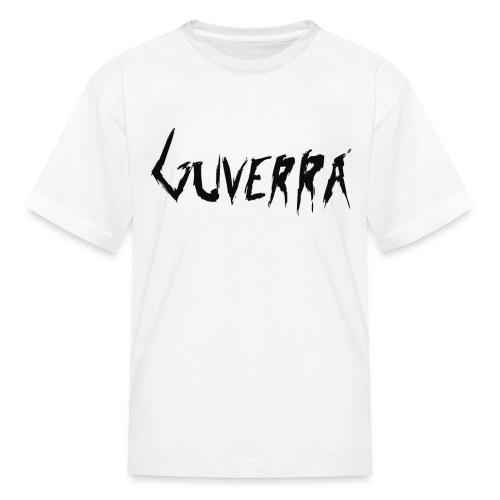 Guverra Logo Kid's T-Shirt (White) - Kids' T-Shirt