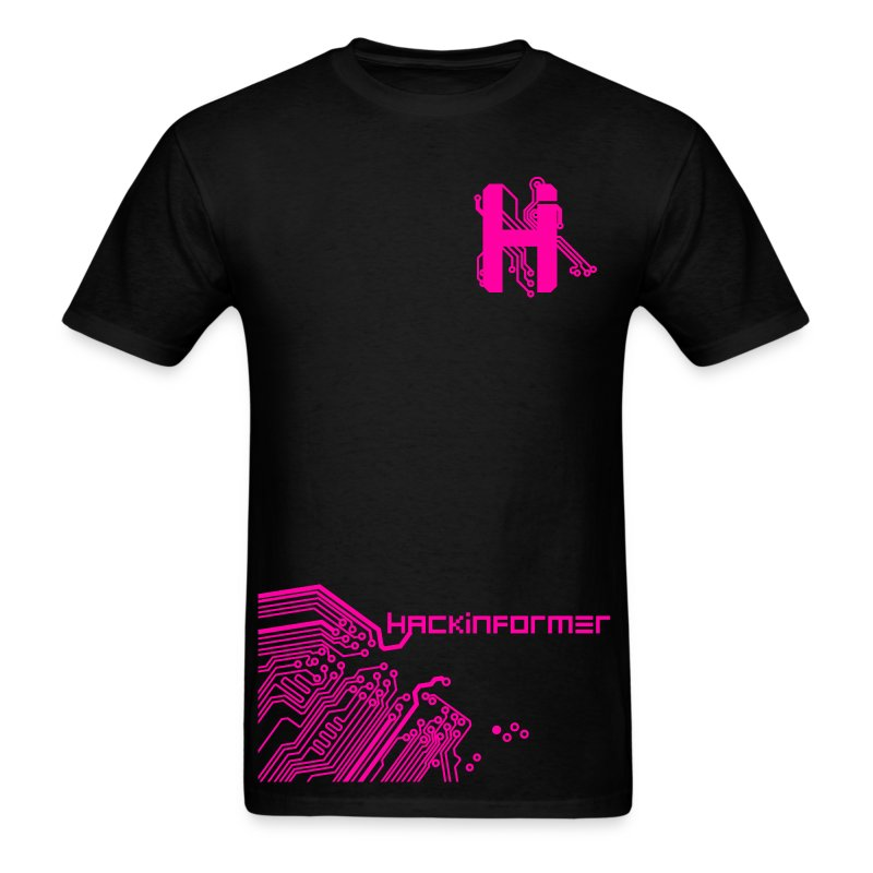 1_logo pink copy copy.png - Men's T-Shirt