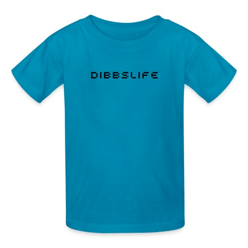 dibbslife blue kids shirt - Kids' T-Shirt