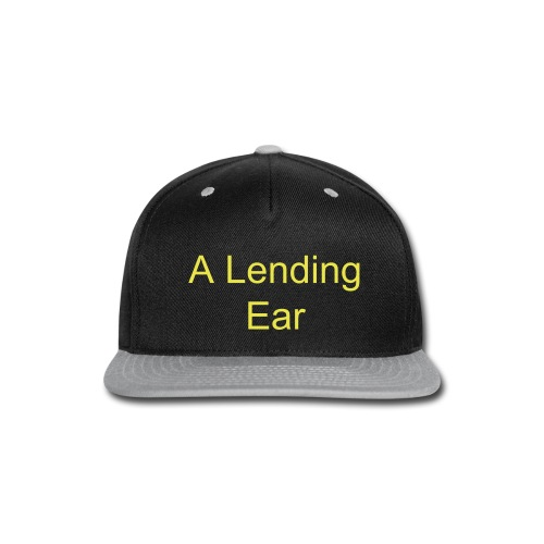 A Lending Ear - Snap-back Baseball Cap