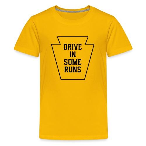 Drive in Some Runs (Pittsburgh) - Kids' Premium T-Shirt