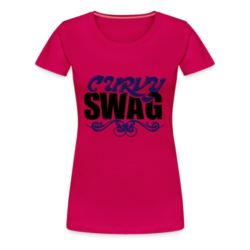 Curvy Swag Women's Premium T-Shirt - Women's Premium T-Shirt