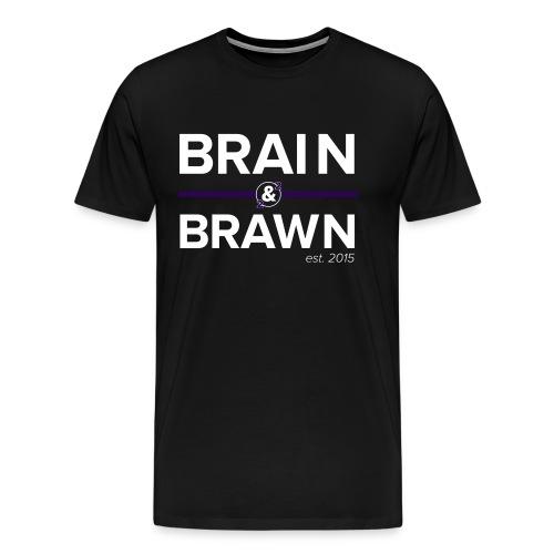B&B v1.0 Dark - Men's Premium T-Shirt