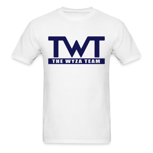 TWT Navy Blue Logo - Men's T-Shirt