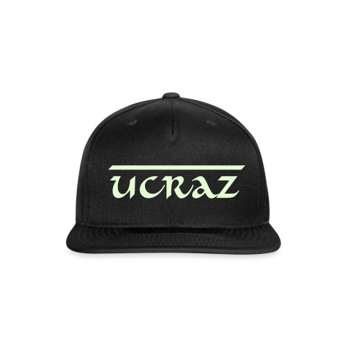 UCRAZ Glow in the dark hat. - Snap-back Baseball Cap