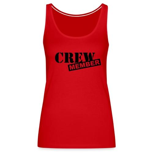 Crew Member/Fire your Boss - Women's Premium Tank Top