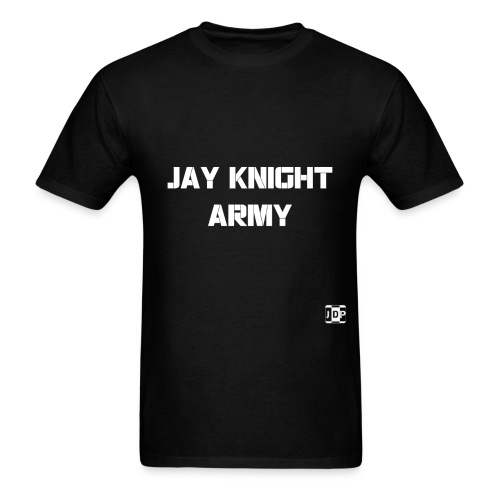 Jay Knight Army Shirt (White Logo and Text) - Men's T-Shirt