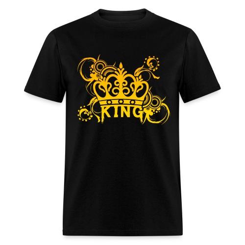 Creative Shirts - King's Crown Design! - Men's T-Shirt
