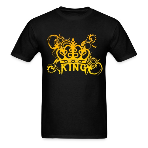 Creative Shirts - King's Crown Design! - Men's T-Shirt
