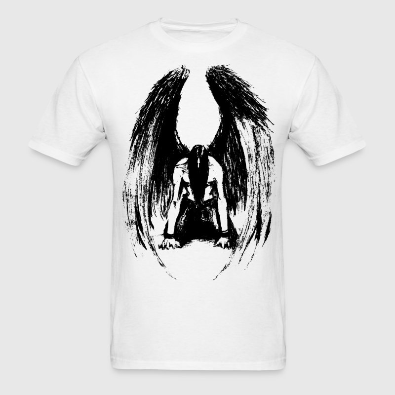 Fallen Angel (2) - Men's T-Shirt