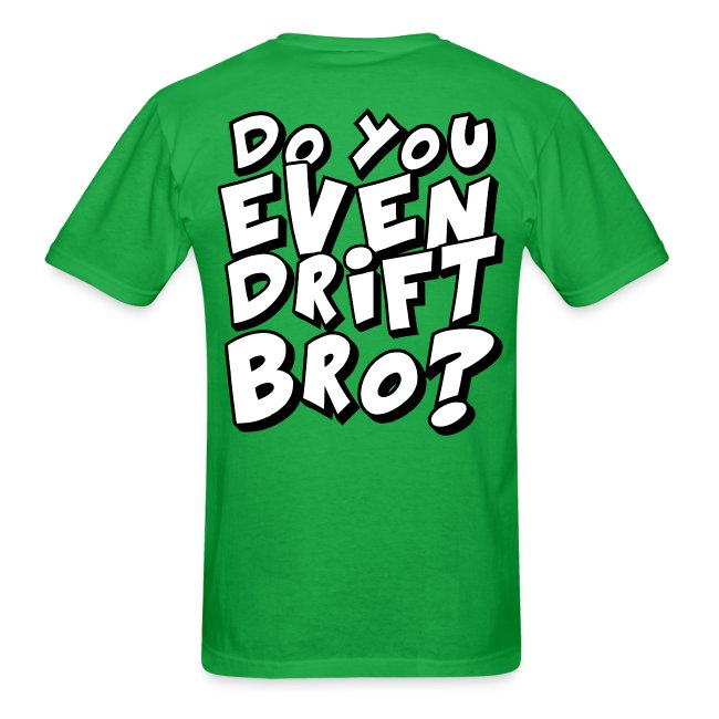 drift bro? T