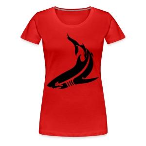 Women's Shark Tee - Women's Premium T-Shirt