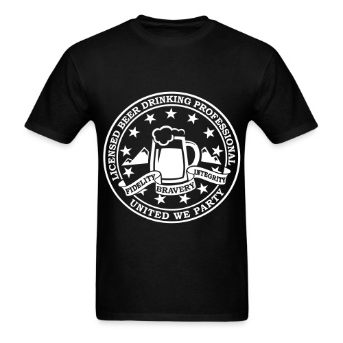 Sawpit 2015 Shirt- White Ink - Men's T-Shirt