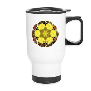 Queen Bee Travel Mug White - Travel Mug