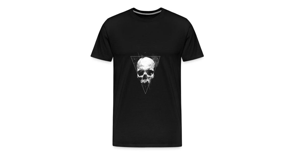 22d9f5ab68f790 Tumblr | Tumblr Skull T-shirt - Mens Premium T-Shirt