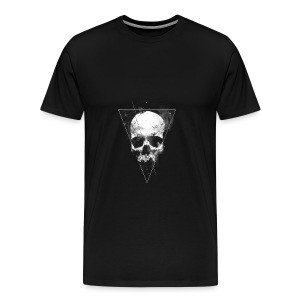 Tumblr Skull T-shirt - Men's Premium T-Shirt