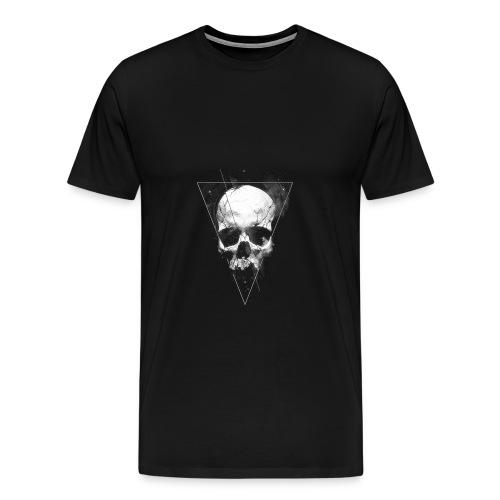 Tumblr Skull T-shirt - Men's Premium T-Shirt