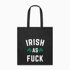 Irish As F*ck Bags & backpacks