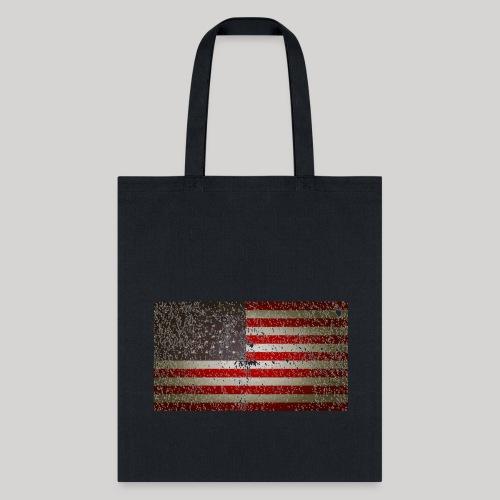US Flag distressed