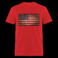 T-Shirts ~ Men's T-Shirt ~ US Flag distressed