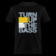 T-Shirts ~ Men's T-Shirt ~ Metallic TurnUp
