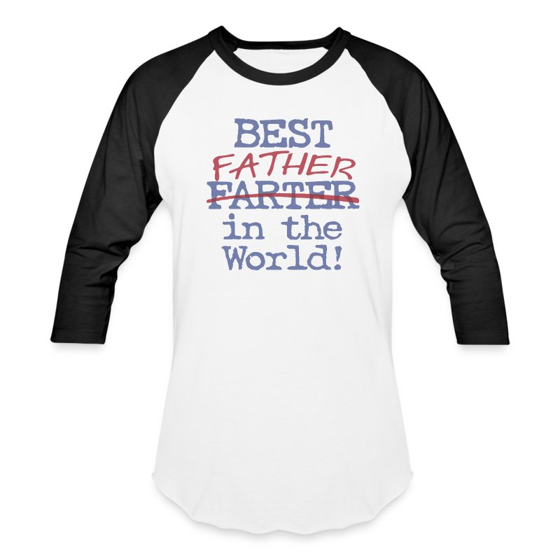 Best father in the world men s baseball t shirt spreadshirt for Best baseball t shirts
