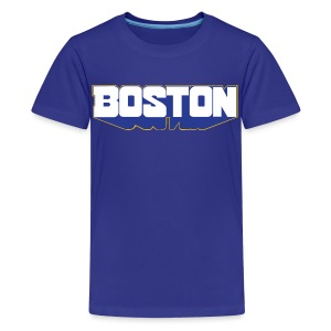 Boston Block - Kids' Premium T-Shirt