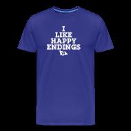 T-Shirts ~ Men's Premium T-Shirt ~ I Like Happy Endings (Chicago Baseball)