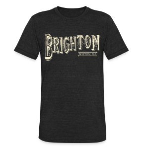 Brighton Boston - Unisex Tri-Blend T-Shirt by American Apparel