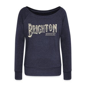 Brighton Boston - Women's Wideneck Sweatshirt