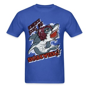 Shark Week Shirt BLUE - Men's T-Shirt