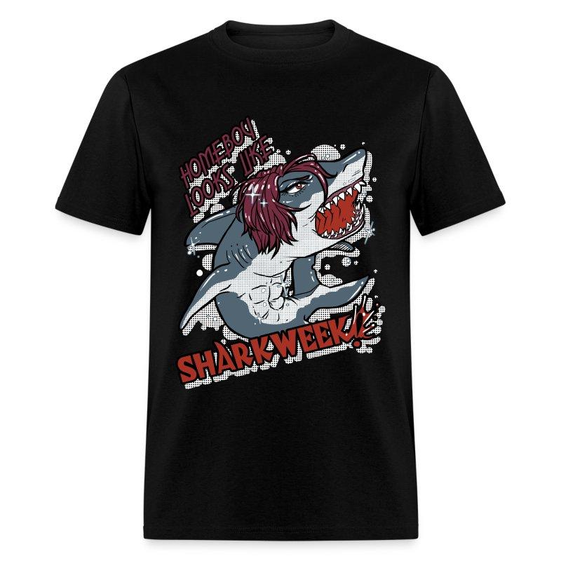 Shark Week Shirt BLACK - Men's T-Shirt