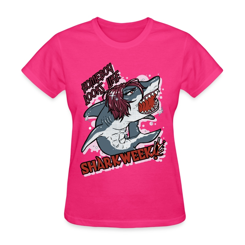 Ladies Shark Week - Women's T-Shirt