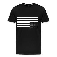 T-Shirts ~ Men's Premium T-Shirt ~ Upside Down US Flag T-Shirt
