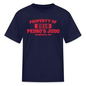 Property of Pedro's Judo - Kids' T-Shirt