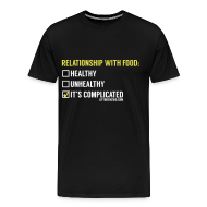 T-Shirts ~ Men's Premium T-Shirt ~ Relationship With Food