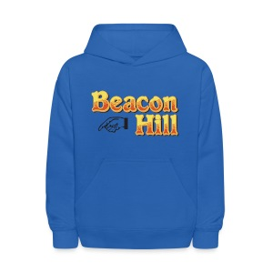 Beacon Hill Boston - Kids' Hoodie