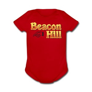 Beacon Hill Boston - Short Sleeve Baby Bodysuit