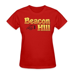 Beacon Hill Boston - Women's T-Shirt