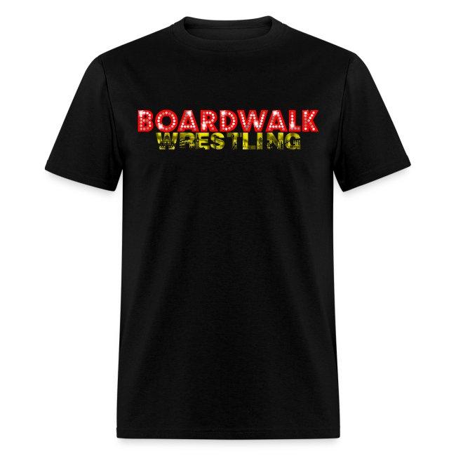Boardwalk Wrestling Logo 2015 (Black Only