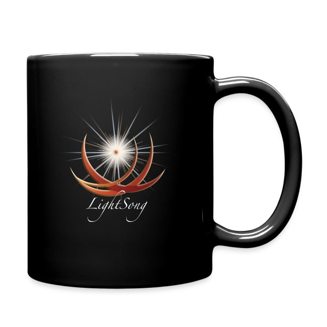 "LightSong ""Never Is Nothing Happening"" Mug"